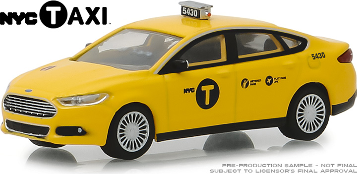 30011 - 1:64 2013 Ford Fusion NYC Taxi