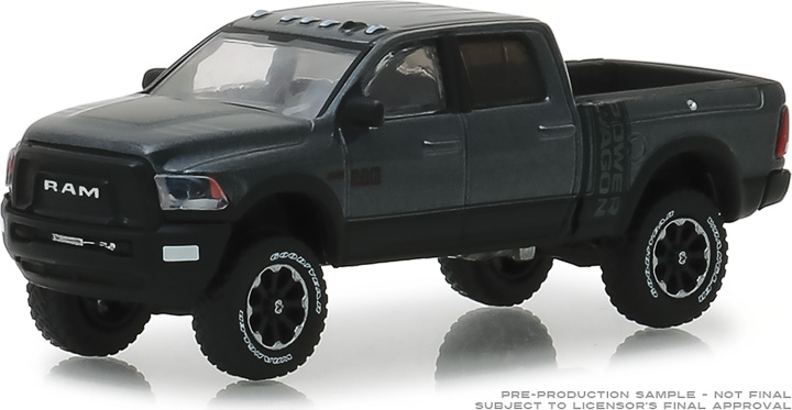 30015 - 1:64 2018 Ram 2500 Power Wagon - Granite Crystal