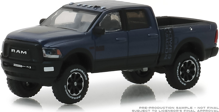 30016 - 1:64 2018 Ram 2500 Power Wagon - Maximum Steel