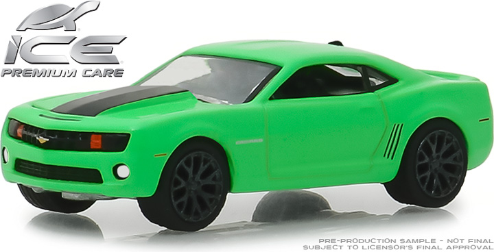 30019 - 1:64 Turtle Wax Ad Cars - 2012 Chevrolet Camaro SS - Turtle Wax Ice Smart Shield Technology