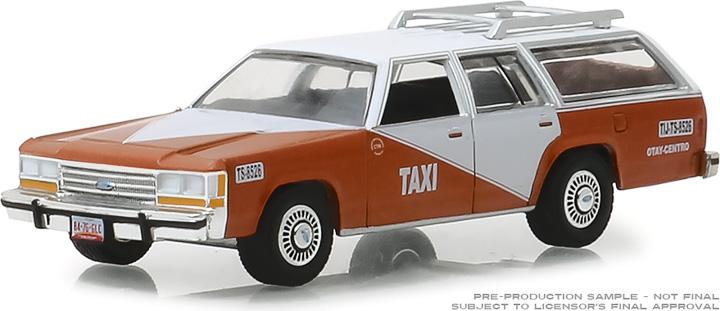 30026 - 1:64 1988 Ford LTD Crown Victoria Wagon - Tijuana Centro, Mexico Taxi