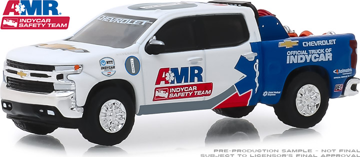 30036 - 1:64 2019 Chevrolet Silverado - AMR IndyCar Safety Team with Safety Equipment in Truck Bed