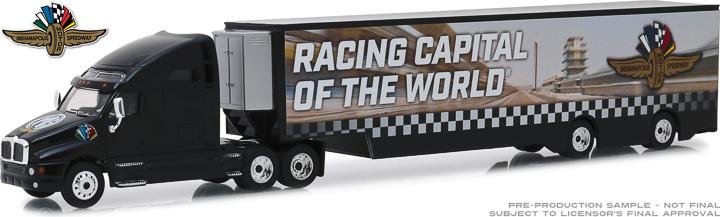 30037 - 1:64 Kenworth T2000 Indianapolis Motor Speedway Wheel, Wings & Flag Transporter