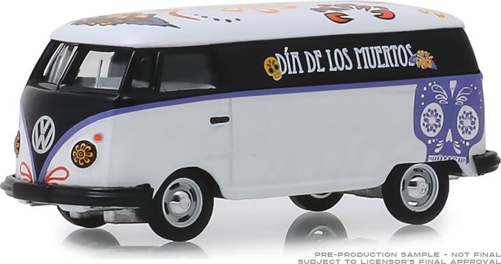 30040 - 1:64 Volkswagen Type 2 Panel Van - Dia de los Muertos 2019