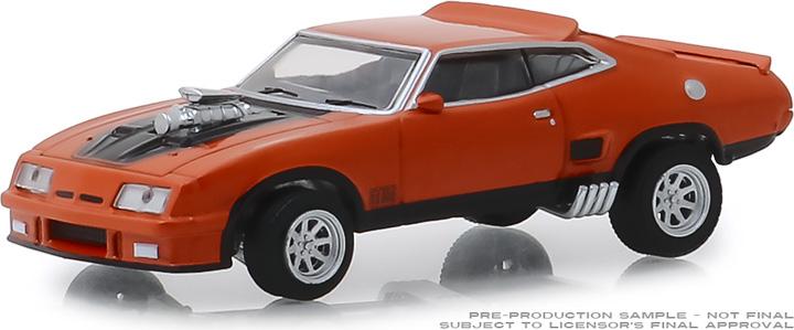 30041 - 1:64 1973 Ford Falcon XB Custom - Burnt Orange with Black Stripes