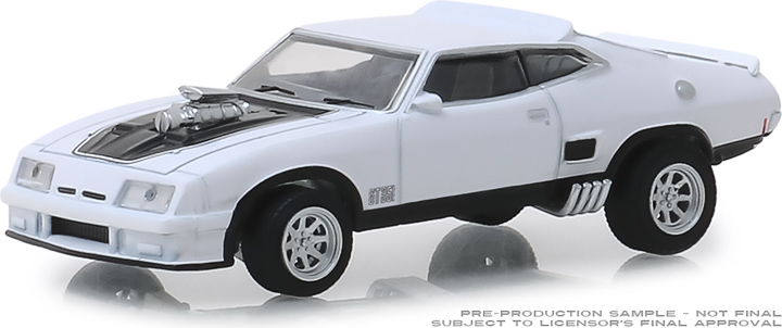 30042 - 1:64 1973 Ford Falcon XB Custom - Polar White with Black Stripes