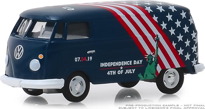 30044 - 1:64 Volkswagen Type 2 Panel Van - Independence Day 2019