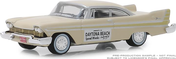 30046 - 1:64 1957 Plymouth Fury - Daytona Beach Speed Weeks