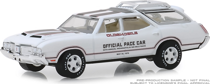 30049 - 1:64 1970 Oldsmobile Vista Cruiser 54th Annual Indianapolis 500 Mile Race Oldsmobile Official Pace Car