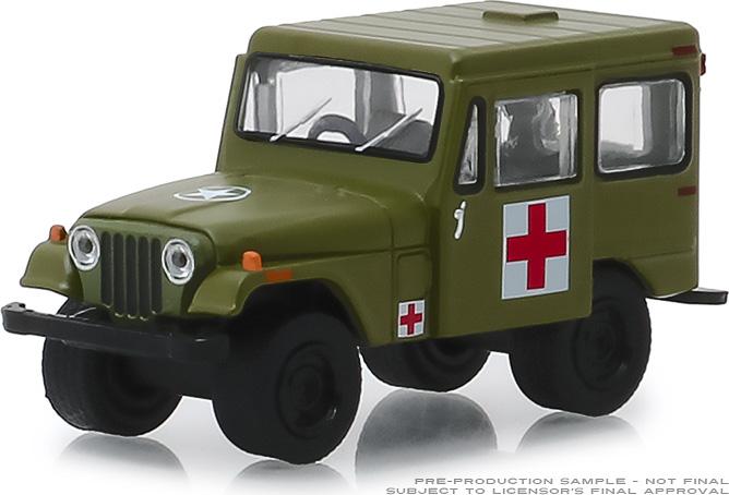 30051 - 1:64 1976 Jeep DJ-5 - Medical Unit