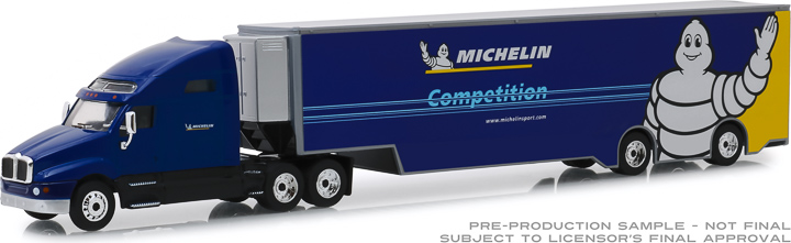 30056 - 1:64 Kenworth T2000 Michelin Sport Michelin Competition Transporter