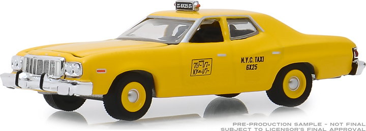 30058 - 1:64 1975 Ford Torino - NYC Taxi