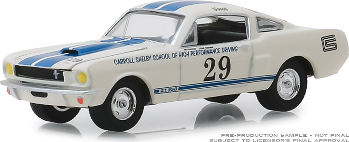 30064 - 1:64 1965 Shelby GT350 #29 Carroll Shelby School of High Performance Driving