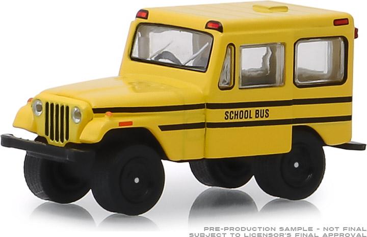 30065 - 1:64 1974 Jeep DJ-5 School Bus