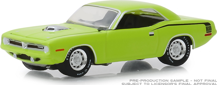 30069 - 1:64 1970 Plymouth HEMI 'Cuda - United States Postal Service (USPS) America on the Move: Muscle Cars