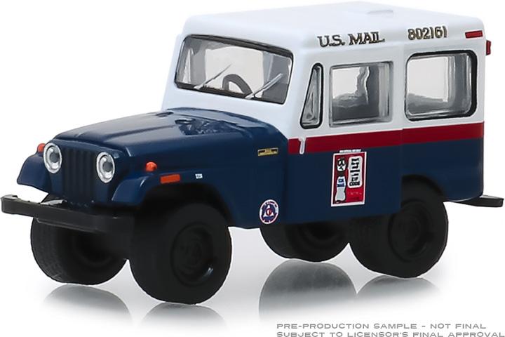 30070 - 1:64 1974 Jeep DJ-5 U.S. Mail Civil Defense Don't tie up mail service…use ZIP CODE