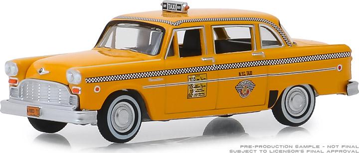 30076 - 1:64 1981 Checker Motors Marathon A11 N.Y.C. Taxi