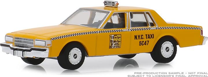 30077 - 1:64 1987 Chevrolet Caprice New York City Taxi Cab