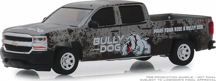 30084 - 1:64 2018 Chevrolet Silverado - Bully Dog Make Your Ride a Bully Dog