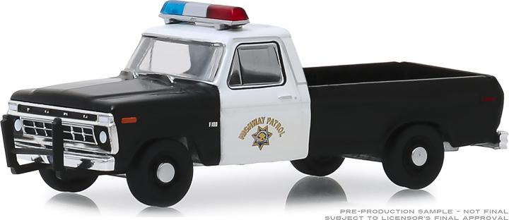 30085 - 1:64 1975 Ford F-100 - California Highway Patrol