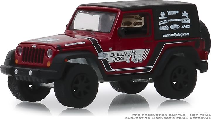 30086 - 1:64 2012 Jeep Wrangler - Bully Dog