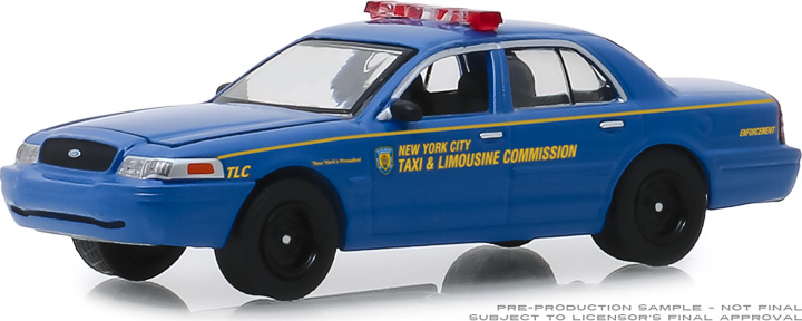 30092 - 1:64 2006 Ford Crown Victoria New York City Taxi and Limousine Commission