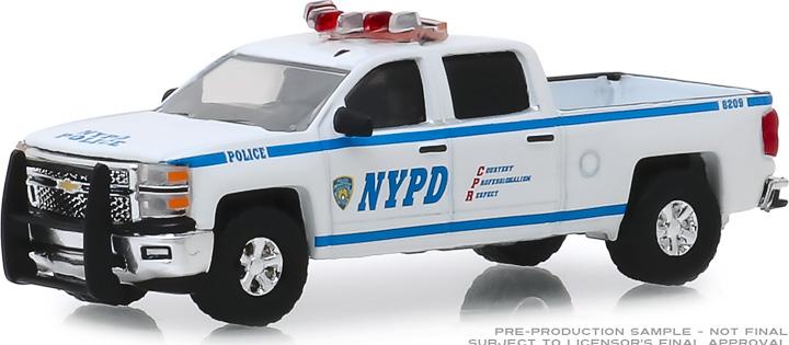30093 - 1:64 2015 Chevrolet Silverado - New York City Police Dept (NYPD)