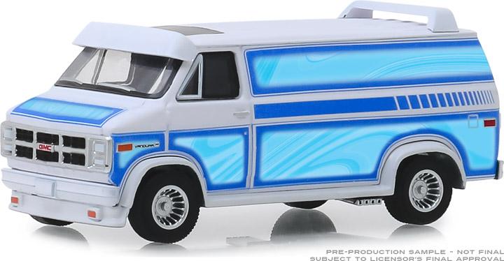 30094 - 1:64 1983 GMC Vandura Custom - White with Custom Graphics