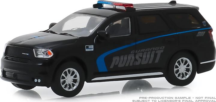 30098 - 1:64 2019 Dodge Durango Pursuit Police SUV