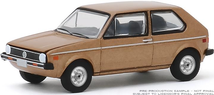 30099 - 1:64 1977 Volkswagen Rabbit - The Champagne Edition