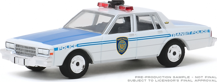 30100 - 1:64 1989 Chevrolet Caprice - New York City Transit Police Department