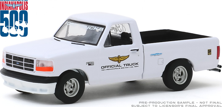 30103 - 1:64 1994 Ford F-150 Lightning - 78th Annual Indianapolis 500 Mile Race Official Truck