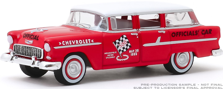 30104 - 1:64 1955 Chevrolet Two-Ten Townsman Officials' Car - 39th International 500 Mile Sweepstakes