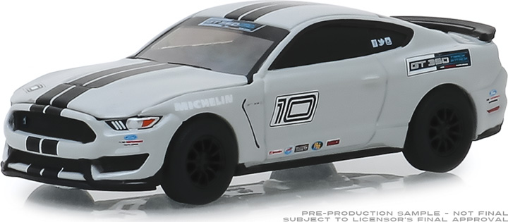 30108 - 1:64 2016 Ford Mustang Shelby GT350 - Ford Performance Racing School GT350 Track Attack #10 - Avalanche Grey