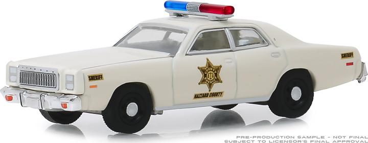 30110 - 1:64 1977 Plymouth Fury - Hazzard County Sheriff