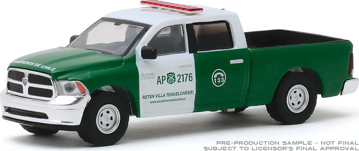 30111 - 1:64 2014 Ram 1500 Police - Carabineros de Chile