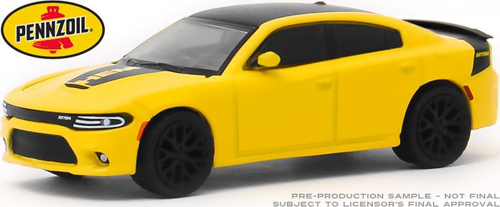 30112 - 1:64 2017 Dodge Charger Daytona HEMI - Pennzoil Advertisement Car
