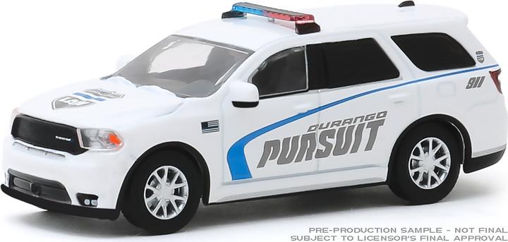 30119 - 1:64 2019 Dodge Durango Pursuit Police SUV - White