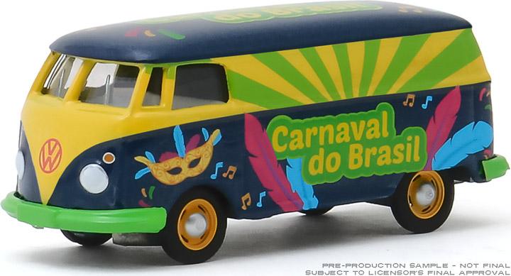 30127 - 1:64 Volkswagen Type 2 Panel Van - Carnaval do Brasil 2020 (Carnival of Brazil)