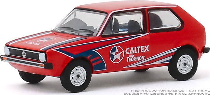 30132 - 1:64 1975 Volkswagen Golf Mk1 - Caltex with Techron