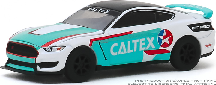 30133 - 1:64 2019 Ford Shelby GT350R - Caltex Racing