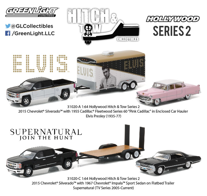 1:64 Hollywood Hitch and Tow Series 2