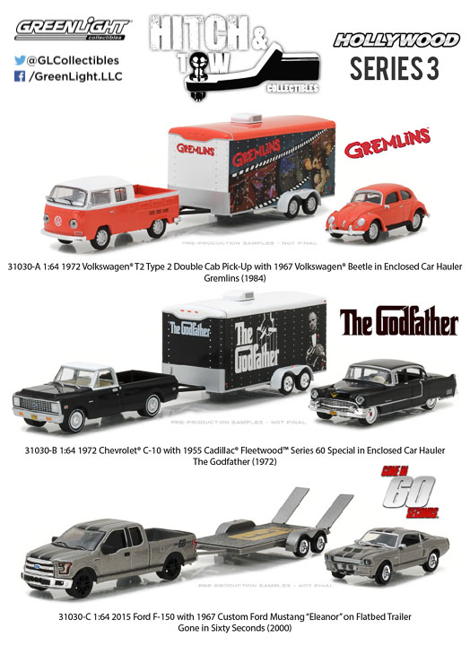 1:64 Hollywood Hitch and Tow Series 3