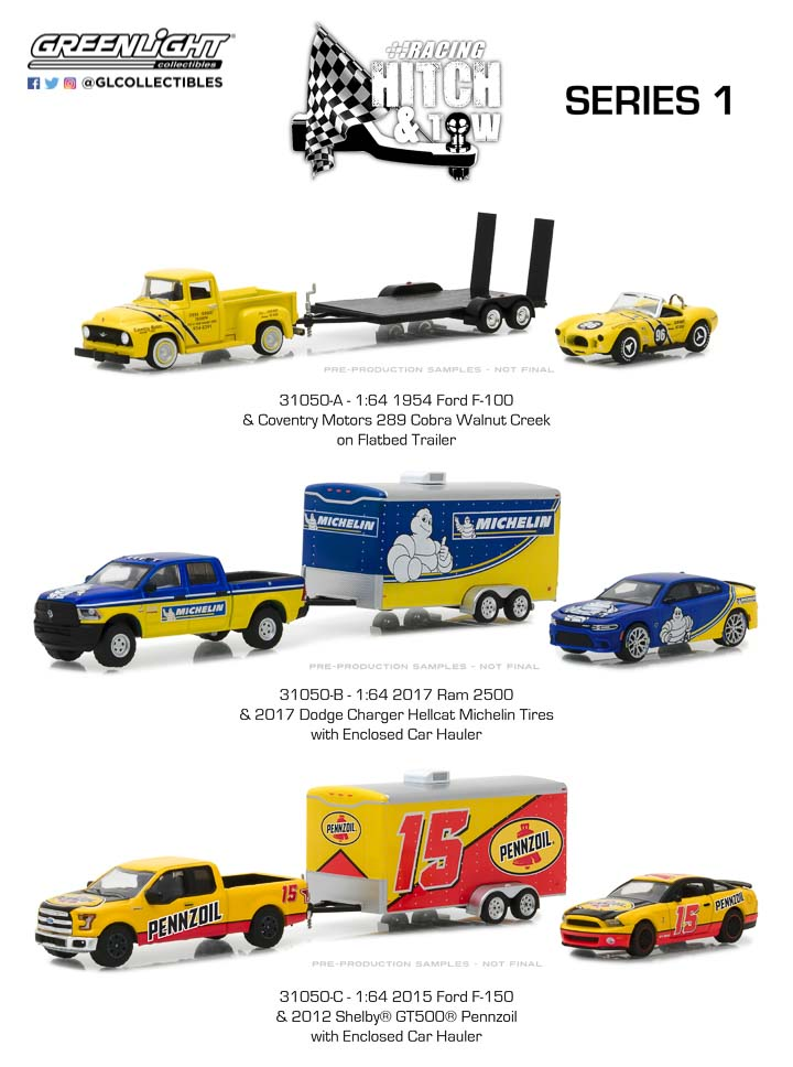 31050 - Racing Hitch & Tow Series 1