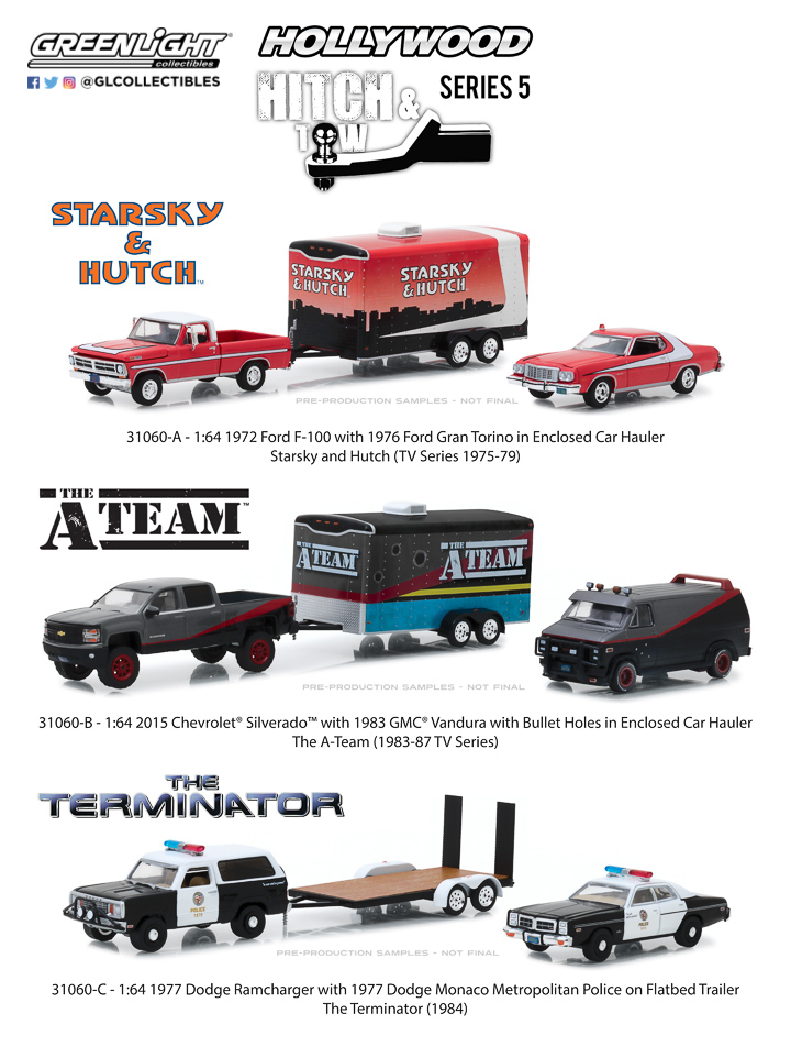 1:64 Hollywood Hitch and Tow Series 5