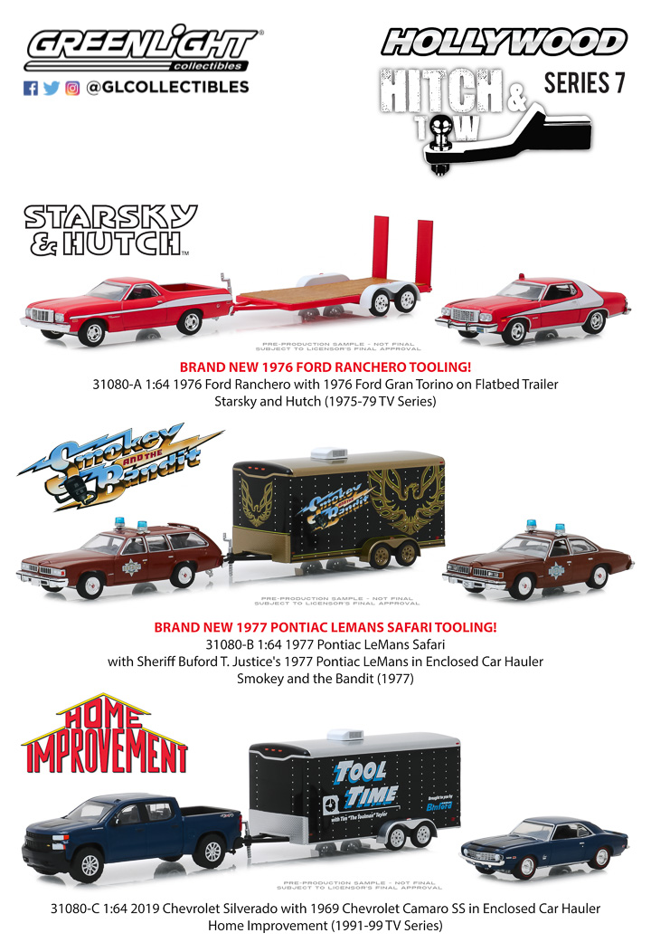 1:64 Hollywood Hitch and Tow Series 7