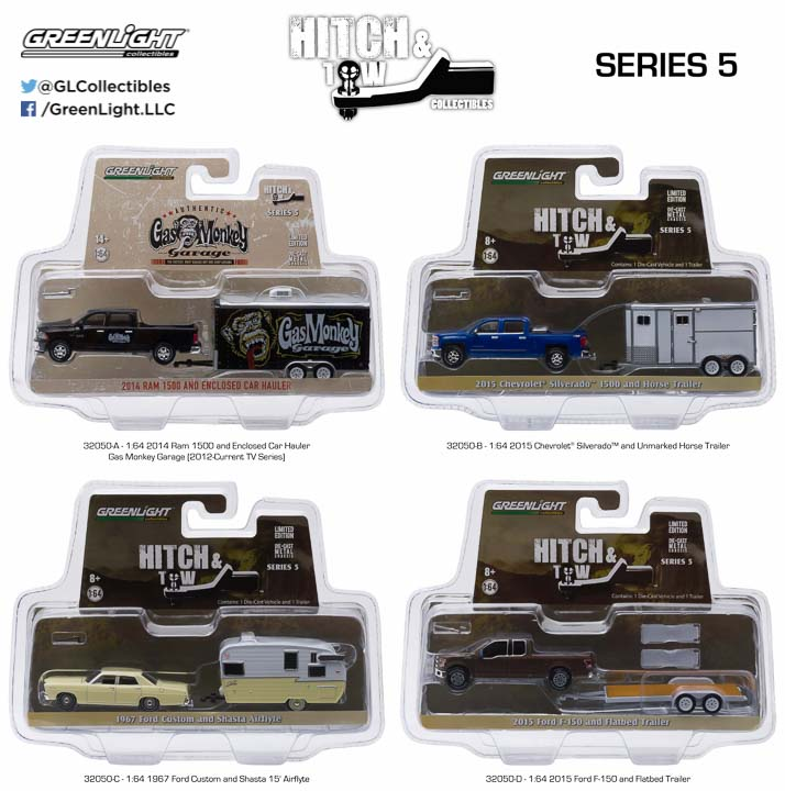 1:64 Hitch and Tow Series 5