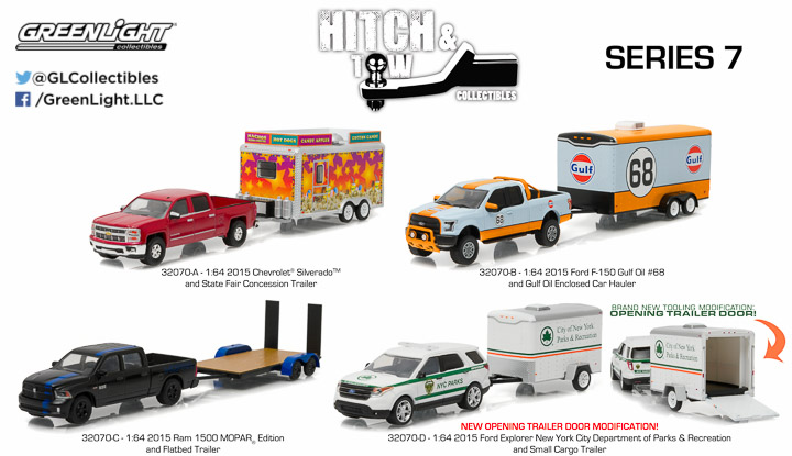 1:64 Hitch & Tow Series 7