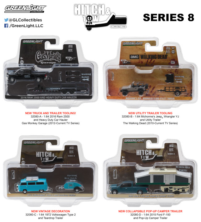 1:64 Hitch & Tow Series 8