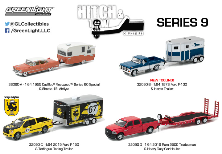 1:64 Hitch & Tow Series 9